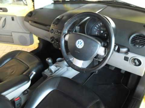 2001 VOLKSWAGEN BEETLE 2.0 HIGHLINE Auto For Sale On Auto Trader South Africa