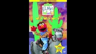 Elmo's World: Wild Wild West (2001 DVD)