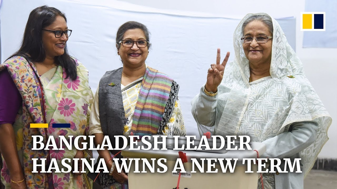 Landslide win for Bangladesh Prime Minister Sheikh Hasina amid violence and claims of vote-rigging