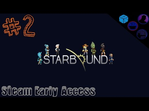 Let's Play Starbound Co-Op - (EA) - Ep. 2 - Is That Gandalf!