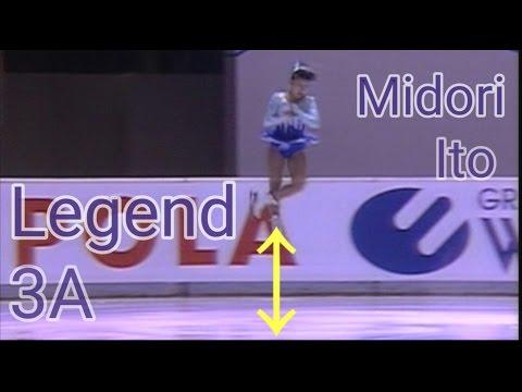 伊藤みどり 伝説のトリプルアクセル TOP5 【Midori Ito Triple axel of legend】