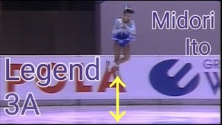 伊藤みどり 伝説のトリプルアクセル TOP5 【Midori Ito Triple axel of legend】 thumbnail