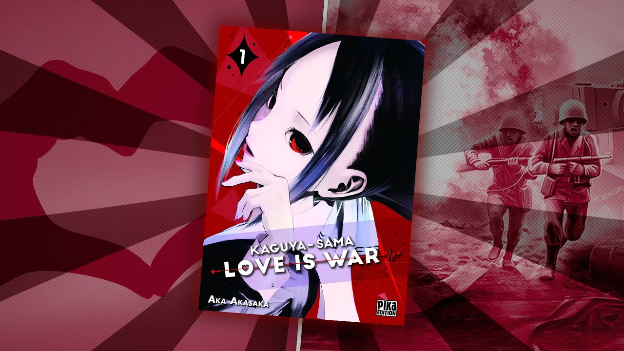 Kaguya-sama : Love is War - manga de combat romantique  ?
