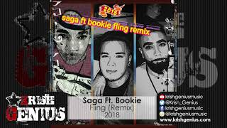 Saga Ft. Bookie - Fling (Remix) January 2018