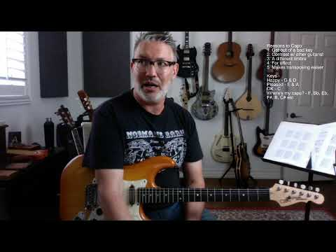 Lesson #85 CAPOING On My BIRTHDAY | Tom Strahle | Pro Guitar Secrets