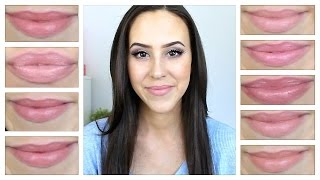 Favorite Nude Lipsticks (Top 10) - Drugstore & High End - 2014