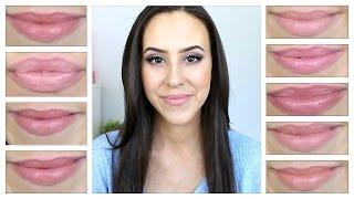 Favorite Nude Lipsticks (Top 10 Best) - Drugstore & High End - 2014