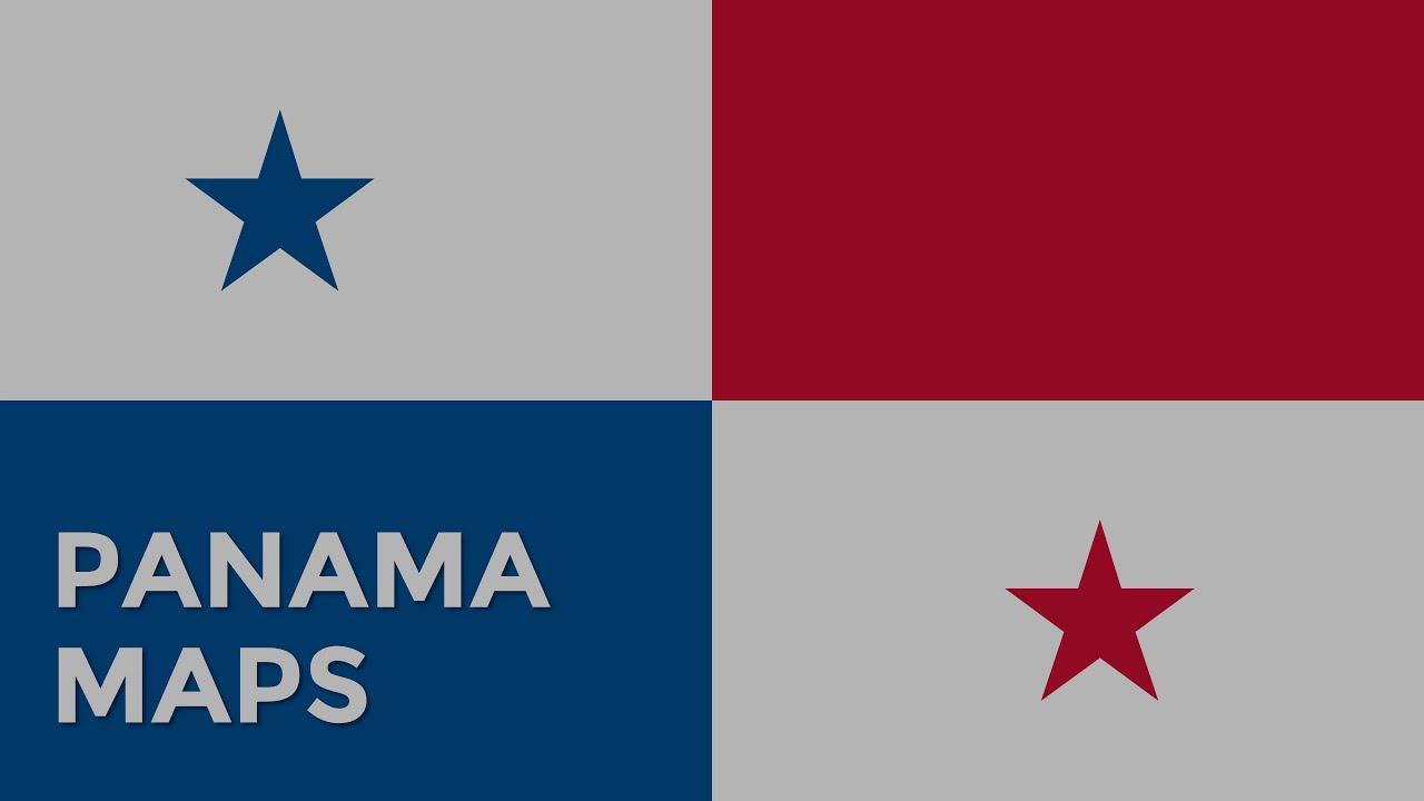 Panama On Map Of World.Panama Maps Panama Powerpoint Maps Templates Youtube