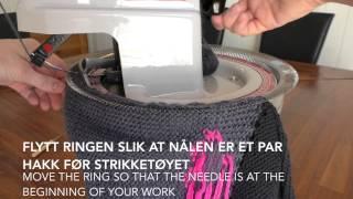 How to use a Hague Linker(Her viser jeg hvordan jeg monterer en lue jeg har strikket på strikkemaskin med en sammensyingsmaskin. Jeg bruker en Hague Linker elektronisk ..., 2015-03-11T21:15:12.000Z)