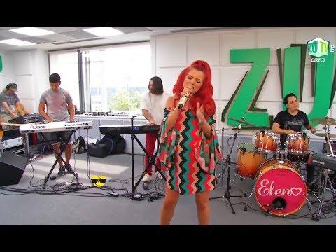 Elena si DJ Project canta ''Duminica'' live la Morning ZU