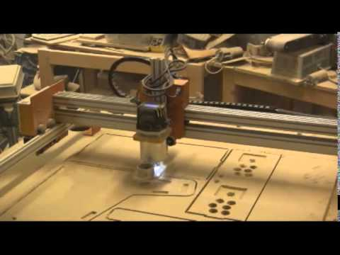 CNC Mogul - Bartop Arcade Cabinet Kit cut vectric aspire - YouTube