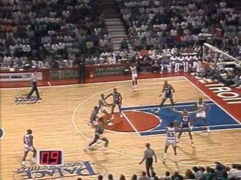 1989 NBA Finals: Lakers at Pistons, Gm 1 part 5/12