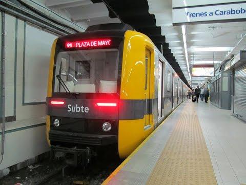 Resubida: Recorriendo el Subte De Buenos Aires