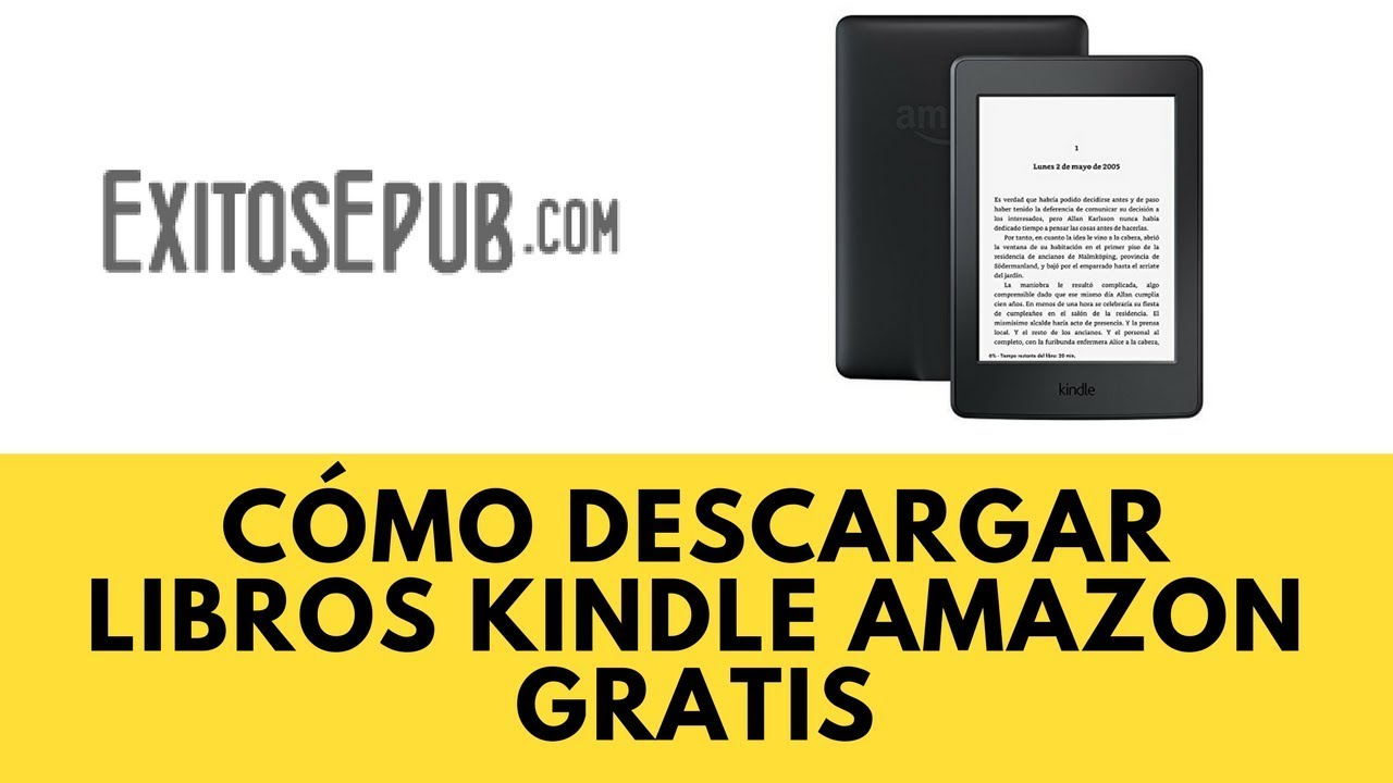 Libro Amazon Cómo Descargar Libros Kindle Amazon Gratis - Youtube