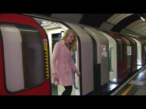 Tube app  Guide for blind people on London Underground