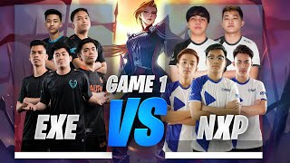 EXECRATION vs NXP GAME 1 JUSTML CUP