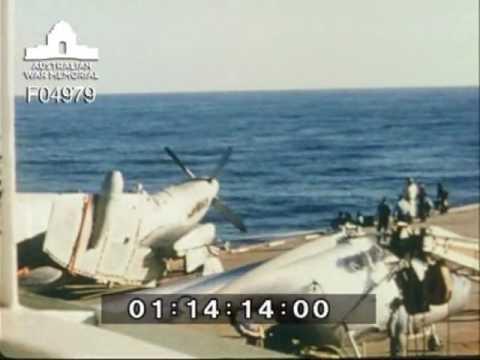 HMAS Vengeance cruise 1953-1954