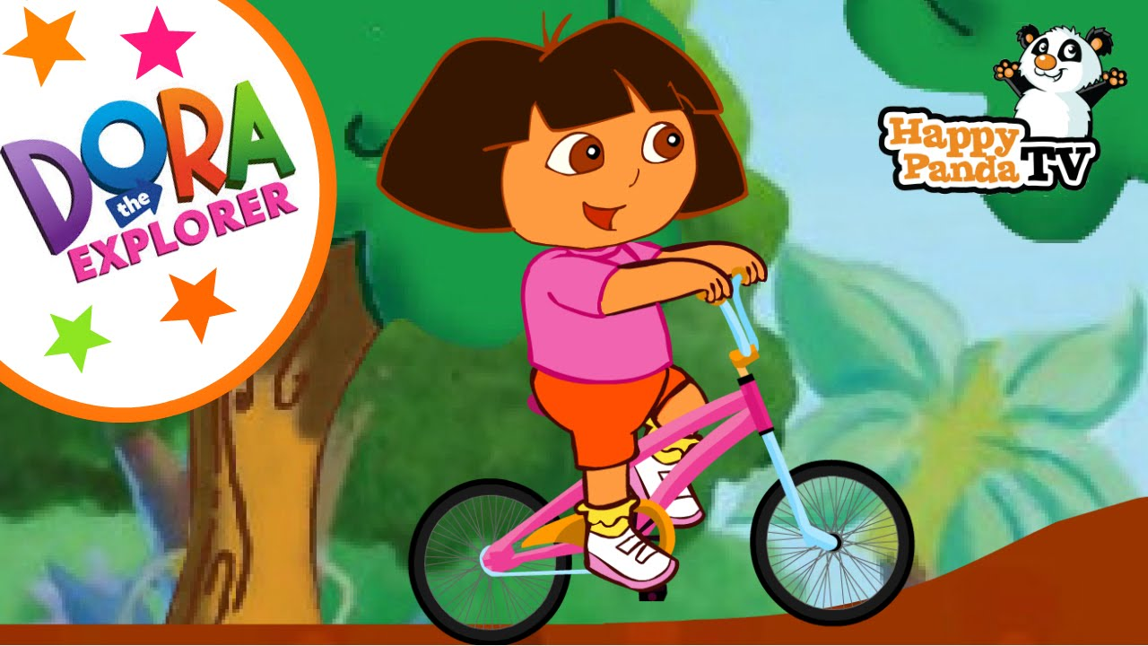 Dora The Explorer Games Dora Riding Bike Online Game