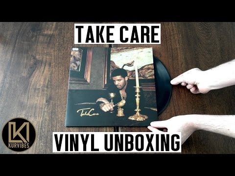Drake - Take Care Vinyl Unboxing | KurVibes