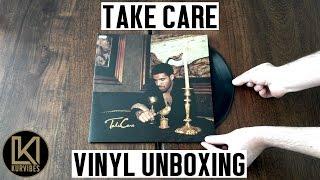 Drake - Take Care Vinyl Unboxing | KurVibes