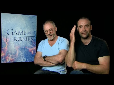 """Game of Thrones"" Season 7 interview with Liam Cunningham & Rory McCann"
