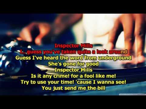 Inspector Mills - (HD Karaoke) America