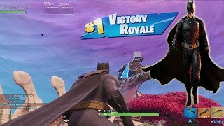 *NEW* 'BATMAN COMIC BOOK' Outfit (Victory WIN Game Play Showcase Video) NEW Fortnite Pack!!