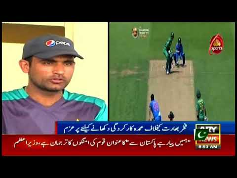 Fakhar Zaman confident to score big against India in Asia Cup