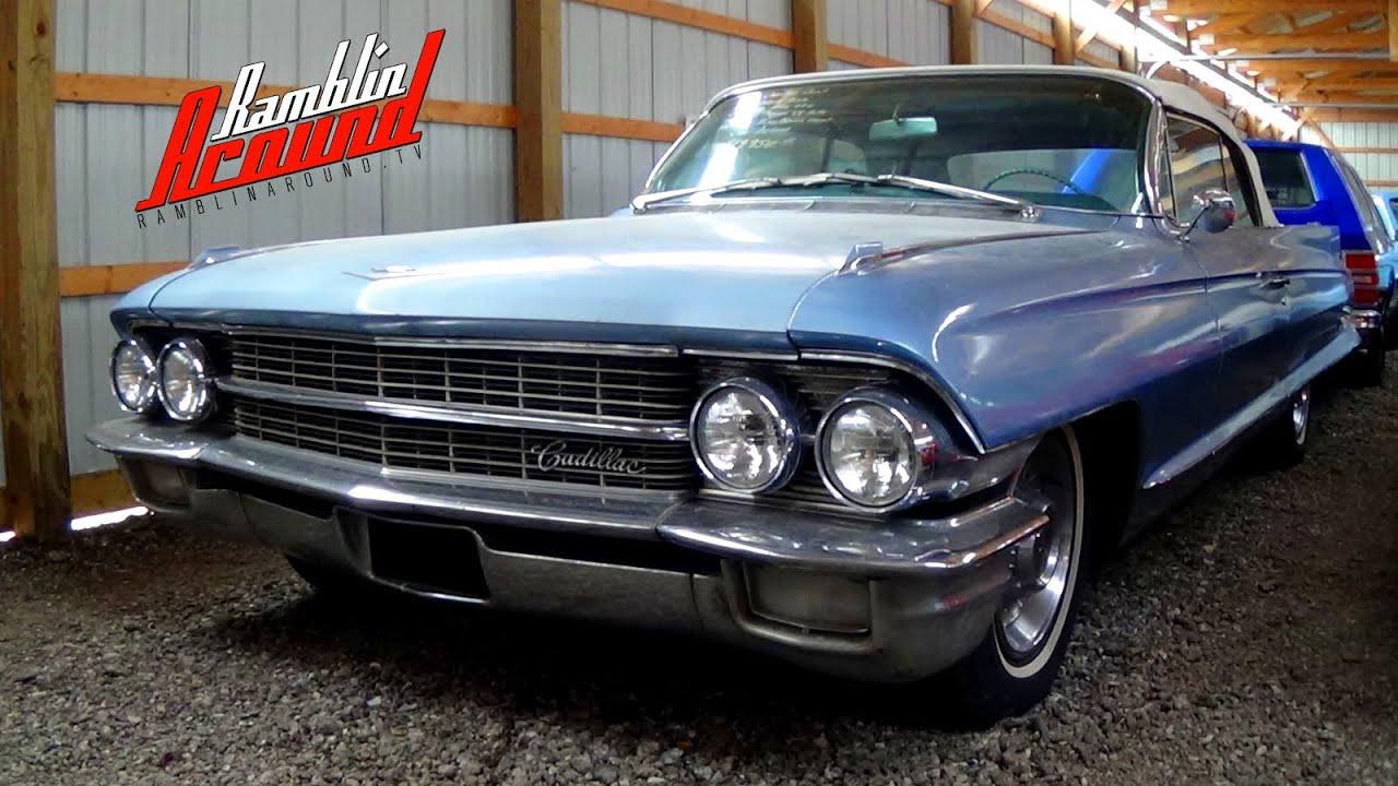 1962 Cadillac Convertible - YouTube
