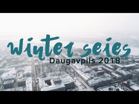 Daugavpils in winter 2018