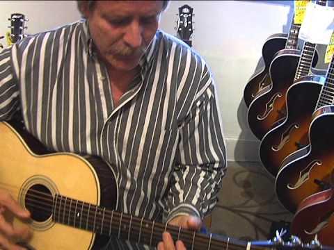 B Street Music - Eastman Acoustic Guitar Demo with Greg