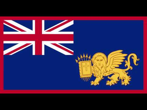 The anthem of the British Amical Protectorate of the United States of the Ionian Islands
