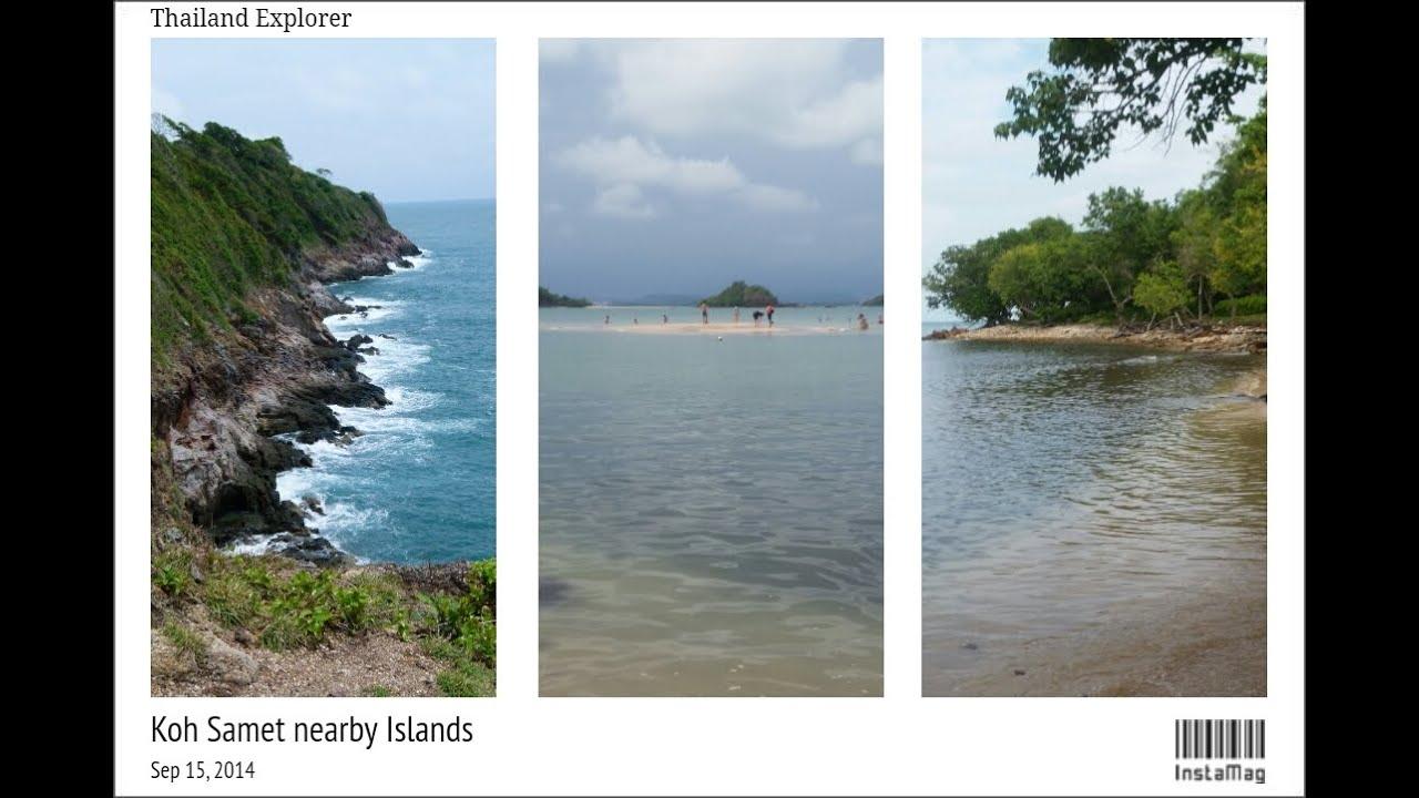 A Tour of Islands around Koh Samet