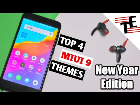top 4 miui themes happy new year