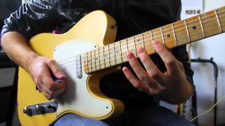 Eric Clapton Inspired Guitar Lick - Hammer On Pull Off Technique