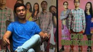 Behind The Scene - film Cinta Brontosaurus