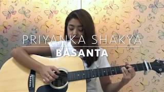 Basanta- JPT Rockerz (Cover By Priyanka Shakya)