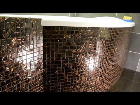 Экран под ванну из мозаики и скрытых люков ч.3 (результат)