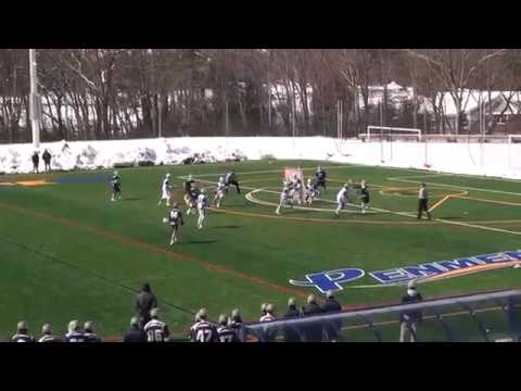 Dominic Scorcia's Behind The Back Goal At Southern N.H.