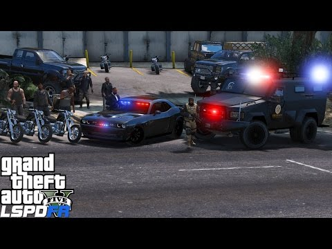 GTA 5 LSPDFR Police Mod 350 | Detective & Swat Live Stream | Taking Down The Lost Motorcycle Gang