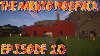 Minecraft Naruto Mod Pack : Season 2 : Episode 10 : My Craftkage Mansion! Thumbnail