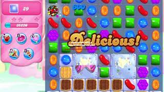 Candy Crush Saga Level 505 NO BOOSTERS waffles
