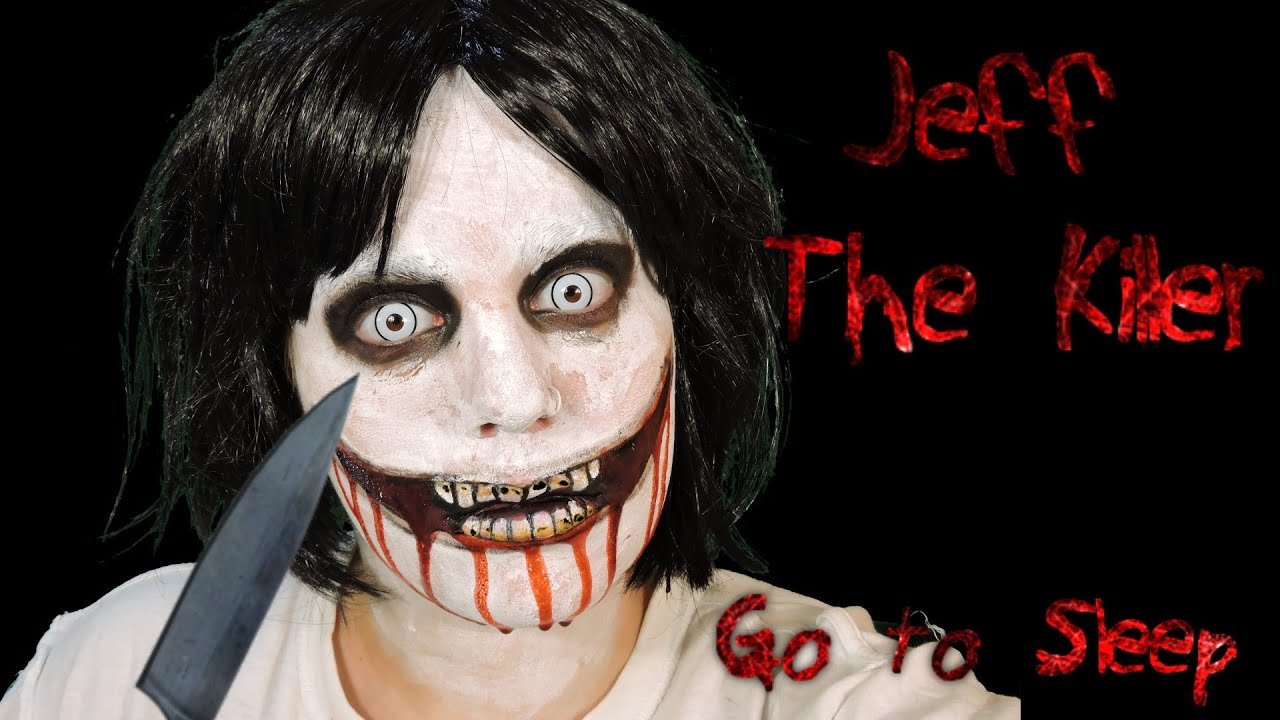 jeff the killer maquillaje gore 13 jeff the killer