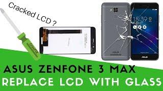 aSUS Zenfone 3 MAX ZC520TL - LCD Screen repair & replacement tutorial by CrocFIX