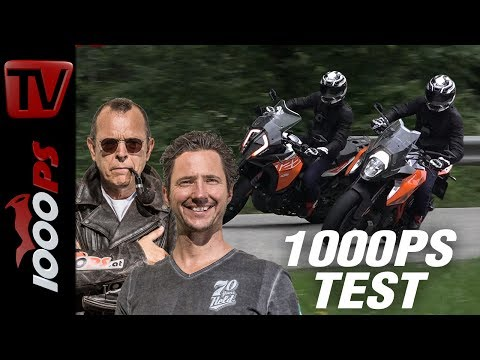 1000PS Test - KTM 1290 Super Duke GT vs. 1290 Super Adventure S