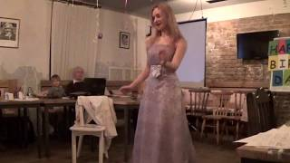 Funny Love Show at Art-Talkers Toastmasters Ukraine English Club Birthday
