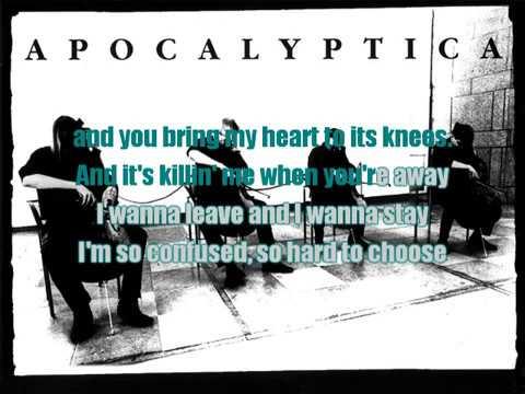 Karaoke Apocalyptica ft. Brent Smith - Not Strong Enough