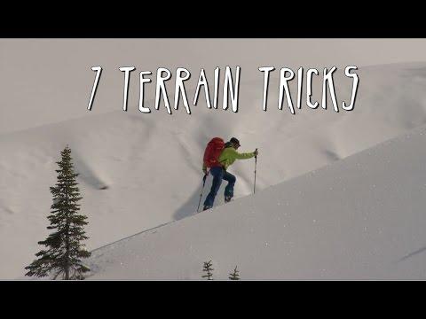 7 Terrain Tricks For Backcountry Skiing