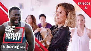 Goat Yoga with Khloé Kardashian | Kevin Hart: What The Fit Episode 4 | Laugh Out Loud Network thumbnail