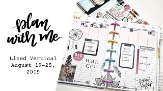 PLAN WITH ME Mini Happy Planner Journal: August 19-25, 2019
